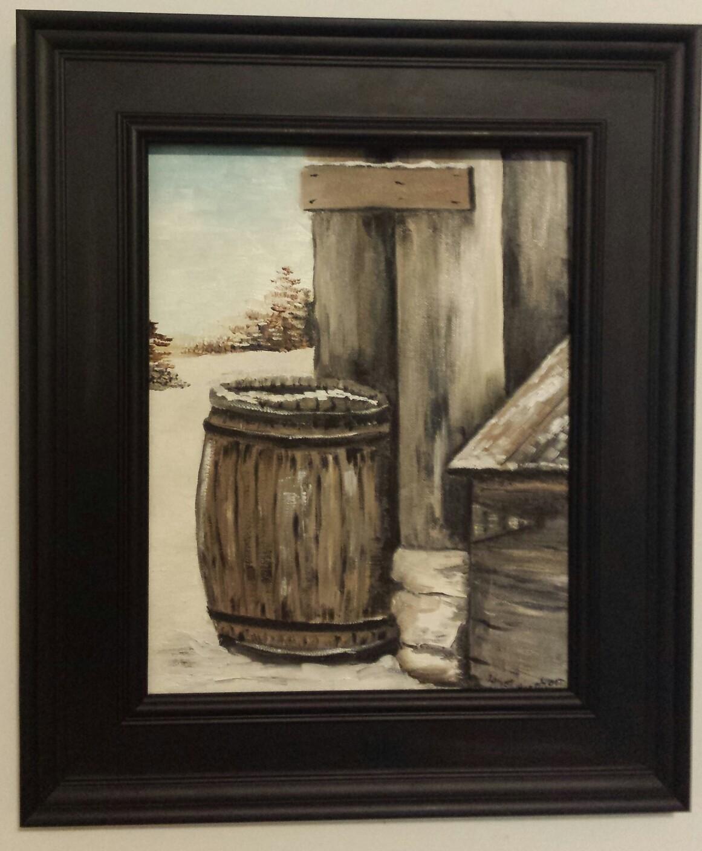 The Old Rain Barrel